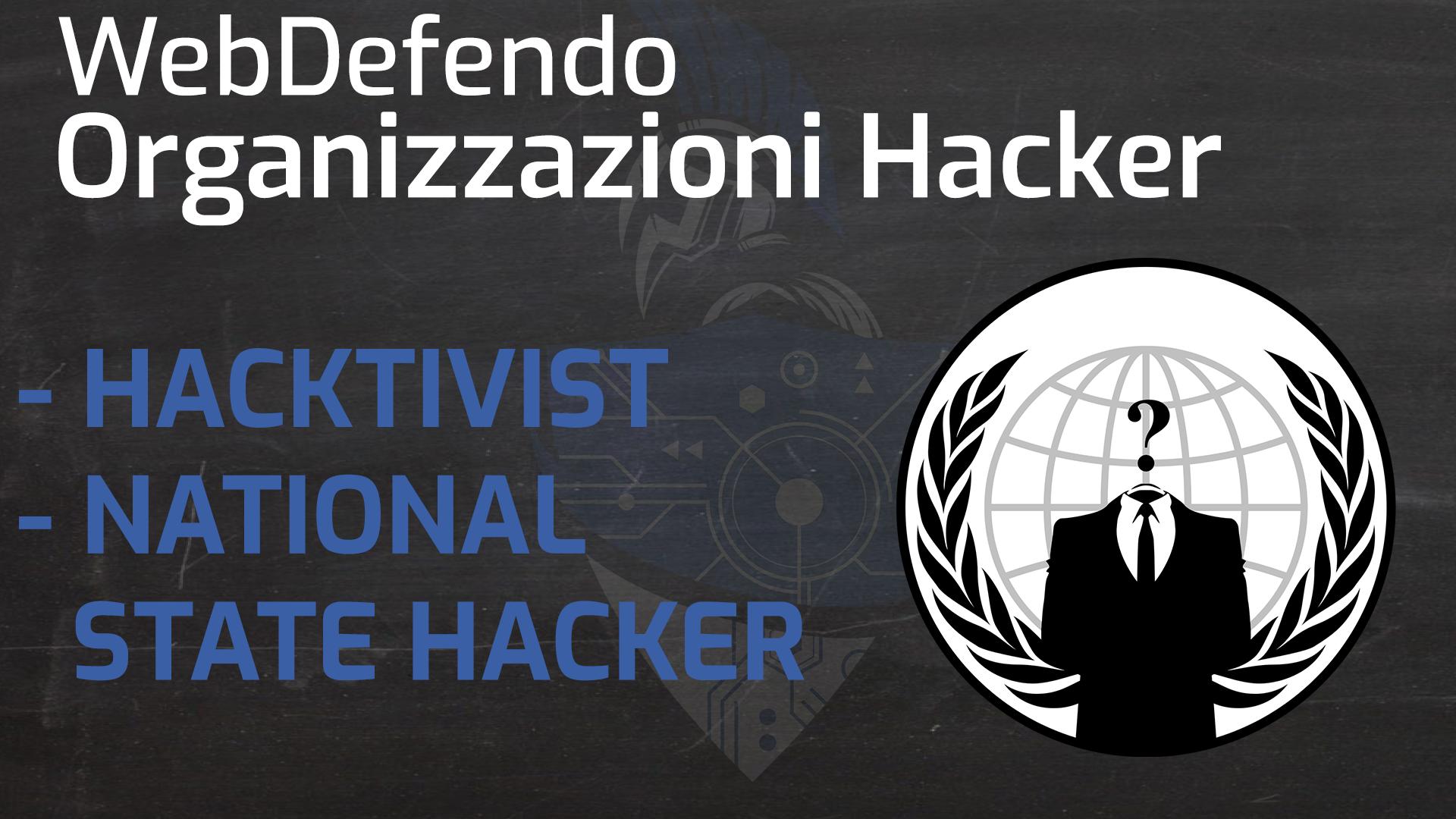 Organizzazioni hacker