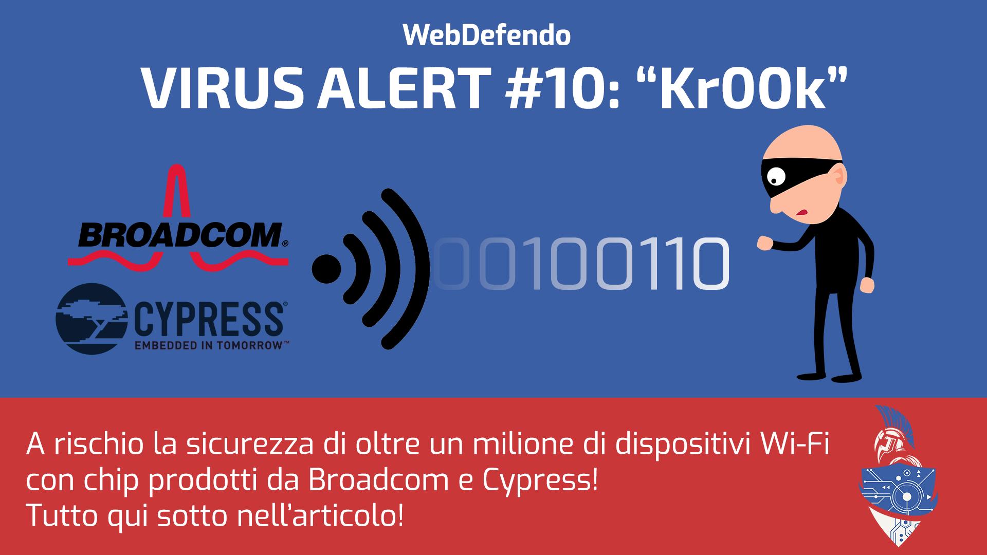 Kr00k - a rischio dispositivi WiFi!
