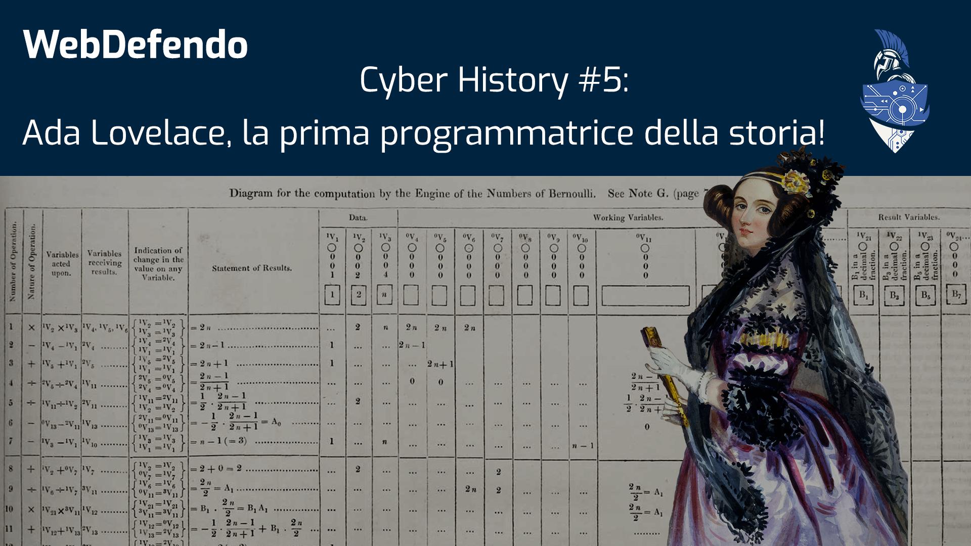 Cyber History #5: Ada Lovelace
